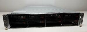 Supermicro X8DTT 4-Node Server Xeon E5530 2.40GHz (x8) 96GB RAM No HDDs (F)