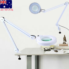 5x Magnifying Lamp 127mm Glasses Diopter Desk Table Light Adjustable