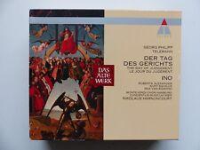 BOX CD TELEMANN Der tag des gerichts INO  NIKOLAUS HARNONCOURT 9031 77621 2