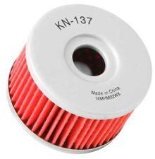 KN-137 K&n Filtro de Aceite Ajuste Suzuki 650; 652; 500; 600; 644; 750; 778; 800