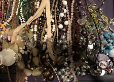 10 Piece Lot Of Vintage  - Now Assorted Modern  Costume Fashion Jewelry Wearable