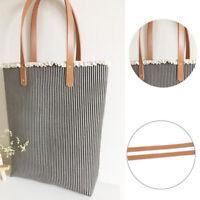 1pair(2pcs) Faux Leather Detachable Belt Handle DIY Replacement Handbag Strap RA