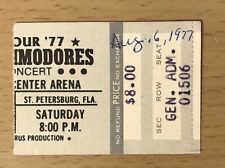 New Listing1977 The Commodores St Petersburg Florida Concert Ticket Stub Lionel Richie Easy