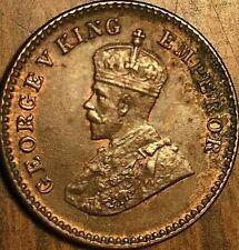 1926 INDIA GEORGE V 1/12 ANNA - Fantastic example!