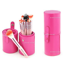 18 pcs Makeup Brush Travel Handbag Set Pink Holder Stand (Gaga) 820P