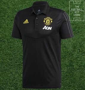 adidas Manchester United Polo Shirt Mens - Man Utd / MUFC Polo Top - 2XL / 3XL