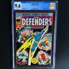 DEFENDERS #28 (1975) 💥 CGC 9.6 WHITE PGs 💥 1st Full App of STARHAWK!