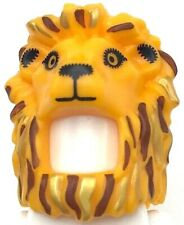 Lego New Bright Light Orange Minifigure Headgear Head Cover Costume Mask Lion