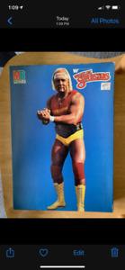 1985 unopened Hulk Hogan WWF Wrestling Puzzle