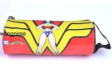 DC Wonder Woman Diana Prince Pencil Pen Case Cosmetic Make Up Bag Storage Pouch