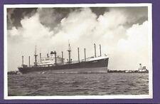 SS Roepat B&W Postcard - Royal Netherlands Steamship Company