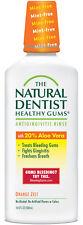 The Natural Dentist Healthy Gums - 16.9 fl oz Orange Zest Antigingivitis Rinse