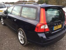 08 VOLVO V70 2.4 D5 SE SPORT, LEATHER, ALLOY *SPARES/REPAIRS* IMMOBILISER ISSUE