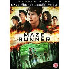 Maze Runner 2015 and Scorch Trials 2016 2x DVD Set