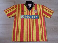 RC LENS Ancien Maillot Football Officiel 1995-1996 T.Adulte XL RCL Sang & Or
