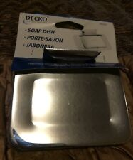 4 Chrome Die Cast Wall Soap Dish, Decko, 38000