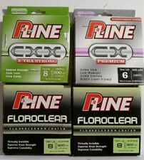 P-Line Cxx,Cx,Floroclear Fishing Lines (4-300yd. Spools)