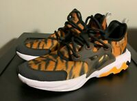 NEW Nike React Presto Magma Print Athletic Shoes CT6623 800 Youth Size 7Y