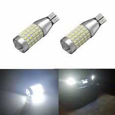 JDM ASTAR 2x90 EX-SMD 921 912 6000K White Back Up Reverse LED Lights Bulb Backup