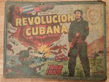 "1960 ORIGINAL""ALBUM DE LA REVOLUCION CUBANA"" CHILDREN COMIC BOOK WITH 268 CARDS"