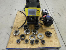 "Weatherhead T440/T410 2"" Hydraulic Hose Crimper Machine W/ New Electic Pump"