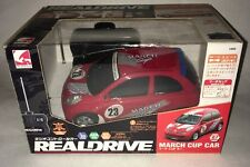 REALDRIVE NISMO NISSAN March Cup Car RC Remote Control 27 MHz Think Happy 2409