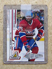 10-11 Panini Pinnacle P.K. SUBBAN Artist Proof SP #218