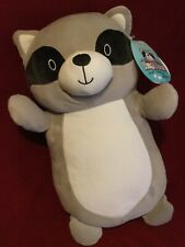 New ListingWoW 18� Troy the Gray Raccoon Mask Hug Mees Squishmallow Plush Toy Pillow Easter