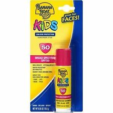 Banana Boat KIDS Suncreen Stick SPF 50 UVA/UVB w/ Aloe Vera .55oz