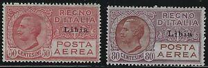 Libya - 1926 - Scott # C1 thru C2 - Complete Set - Mint OG Never Hinged