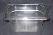 Restaurant Equipment Bar Supplies CAMBRO 1/9 CLEAR PAN