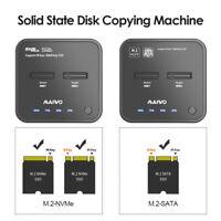 K3016 USB C 3.1 to M.2 SSD External Hard Drive Docking Station Offline Clone