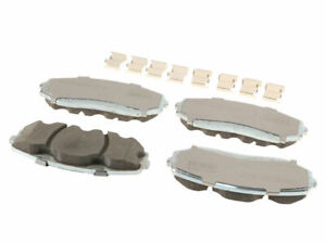 Front Brake Pad Set For 2007-2014 Ford Edge 2008 2009 2010 2011 2012 2013 H417CX