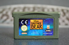 BROTHER BEAR BROTHER BEAR DISNEY NINTENDO GAME BOY ADVANCE COMBINED SHIPPING
