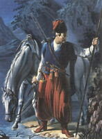 "high quality oil painting 100% handpainted on canvas ""Cossack"""