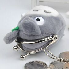2019 New My Neighbour Totoro Grey Plush Cosmetic Pencil Case Bag Coin Pouch