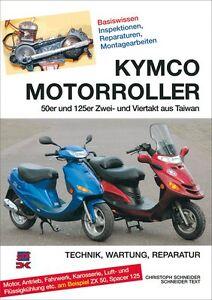 WERKSTATTHANDBUCH REPARATURANLEITUNG WARTUNG KYMCO MOTORROLLER