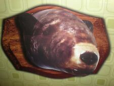 "Dci Inflatable Bear Head New Wooden Mount Not Included 24"" H X 20""W X 24""D"