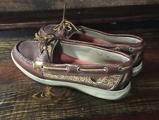 18988 Womens SPERRY  TOP-SIDERS Flats / Deck SHOES Size 10M top siders