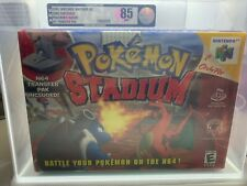 2000 Pokemon Stadium N64 Nintendo 64 VGA 85 W/ Transfer Pack Not Wata