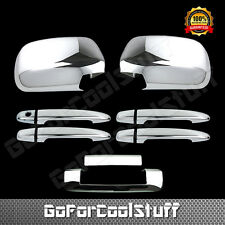 For Toyota Tacoma 2005-2010 Chrome Mirror, Door Handle & Tailgate Cover