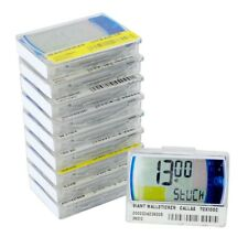 10x elektronische digitale LCD Preisschilder Etiketten Pricer 18210-00 48x37x9mm