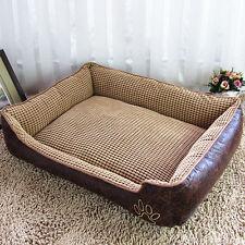 Washable Soft Luxury Dog Bed Mattress Pillow Puppy Cat Pet Comfy Fur Fleece - L