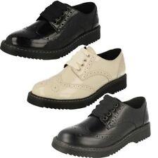 Chaussures habillées à lacets pour fille de 2 à 16 ans