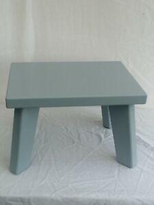 Handmade wooden Grey Children StepStool, Kids Stool,Chair (Sturdy)Boys&Girls
