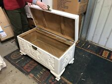 Chinese Camphor Wood Blanket Box Trunk Chest