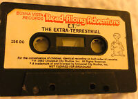 Buena Vista Childrens Vintage Cassette Tape ET EXTRA TERRESTIAL movie Story