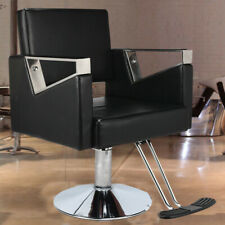 More details for adjustable hydraulic reclining barber hairdressing beauty salon chair black