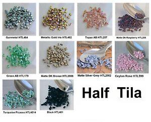 Half TILA 2-Hole Glass Beads Miyuki 100 Ur PICK
