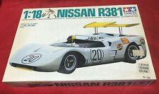 """""""Nissan R381"""" Tamiya 1/18 Scale Car  Kit 10002"""